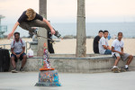 Skateboard park in Venice Beach, California