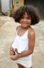 A young girl in Buzios, Rio de Janeiro.