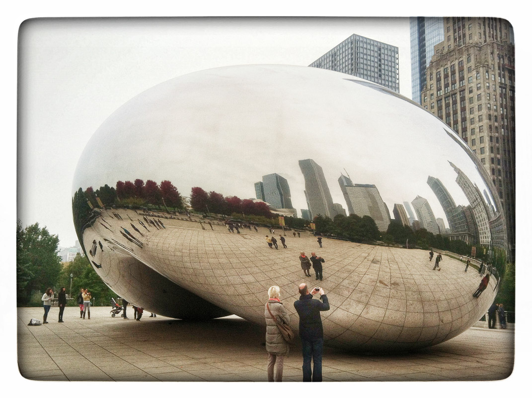 The Bean in Chicago's Millenium Park