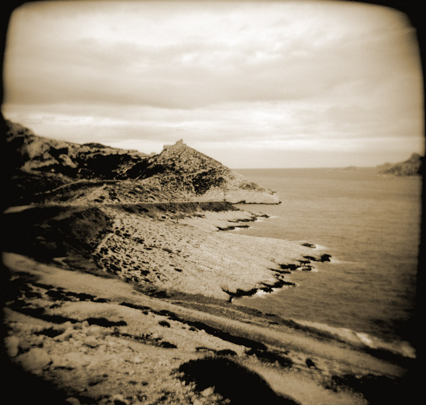 The coastline in Marseilles, France.