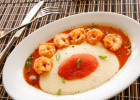 The shrimp and grits at Relish restaurant in Philadelphia.