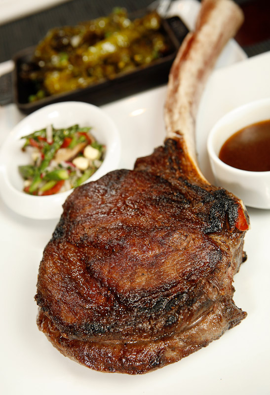 The t-bone steak at Table 31 Restaurant in Philadelphia.