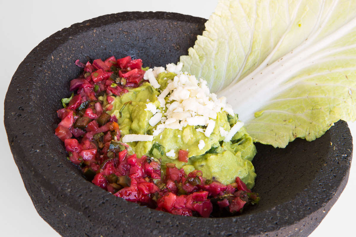 The strawberry habanero guacamole at Union Taco in Philadelphia.