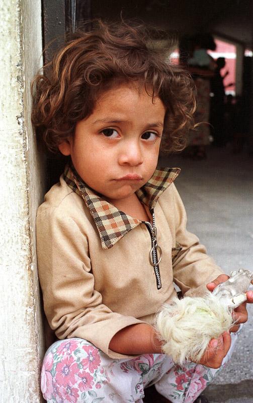 A young boy in Quetzaltenango, Guatemala.