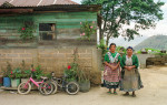 Two women at home in Quetzaltenango, Guatemala.