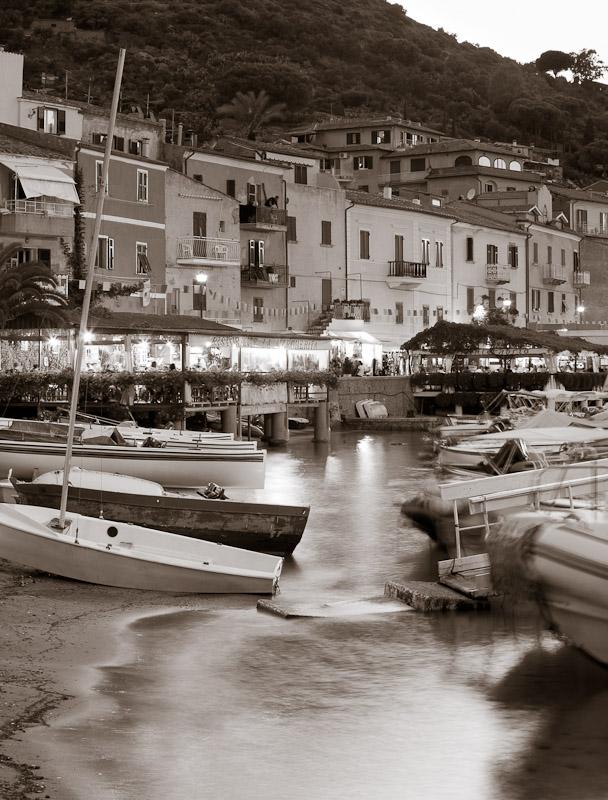 Porto on Isola del Giglio, Tuscany.