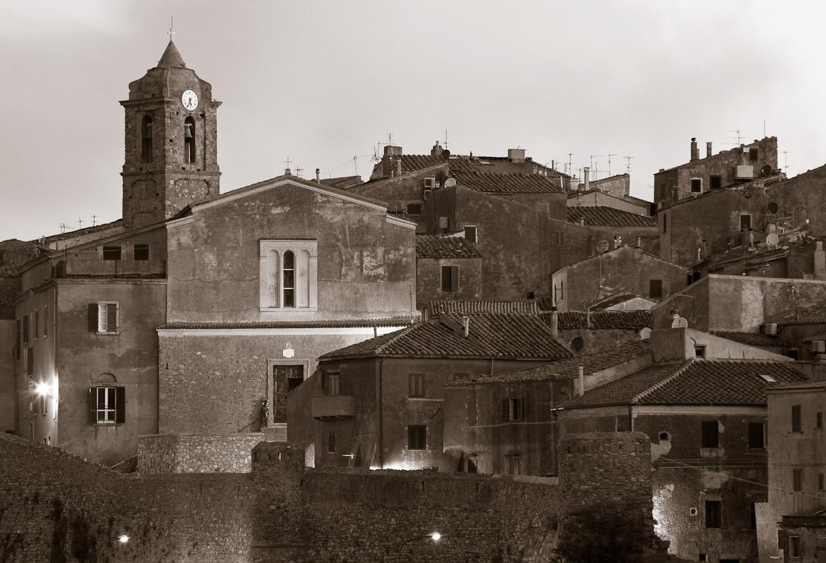 Castello on Isola del Giglio, Tuscany.