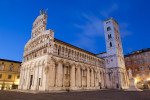San Michele church in Lucca, Tuscany.