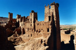 Part of the Ait Benhaddou kasbah in Ouarzazate.