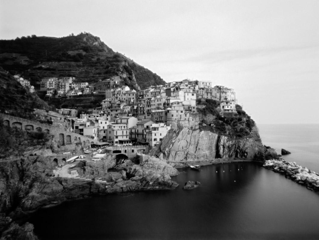 Manarola harbor in Cinque Terre, Liguria, Italy.