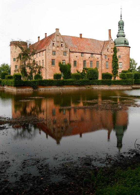 Vittskövle Castle, a Renaissance castle erected by Jens Brahe in the 16th century in Vittskövle, Sweden.