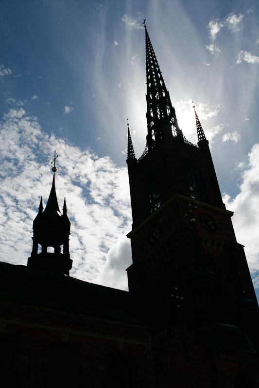 Storkyrka Church in Gamla Stan, Stockholm, Sweden.