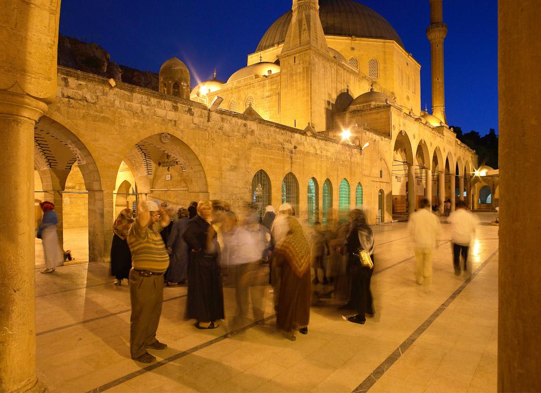 Yeni Camii in Sanliurfa, Turkey.