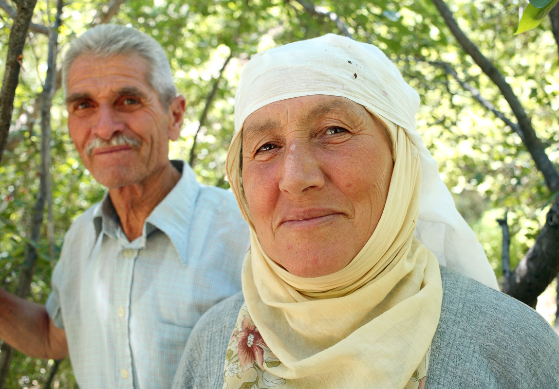 Farmers in Capadoccia, Turkey.