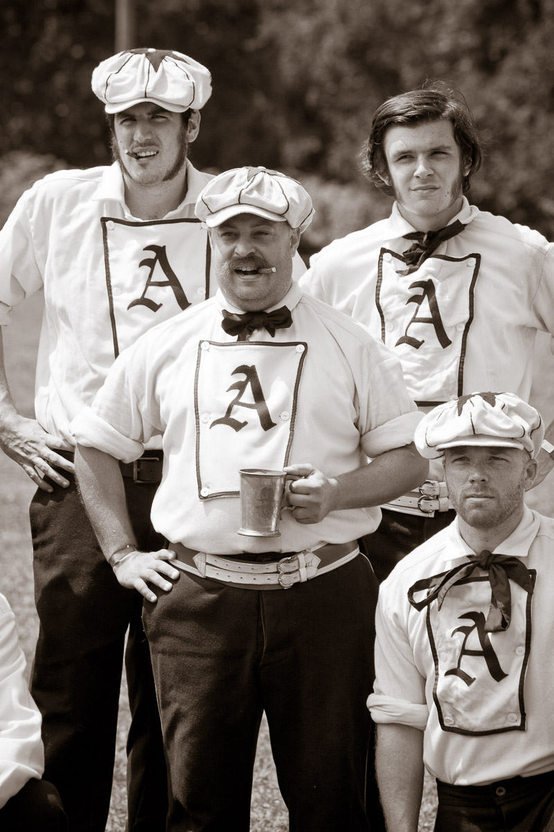 Members of the Philadelphia Athletic Base Ball Club.
