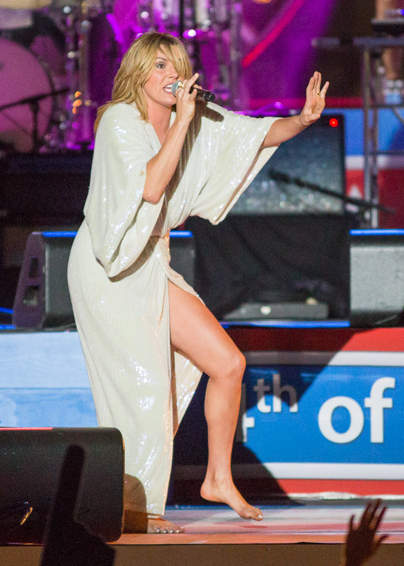 Grace Potter performs at the Welcome America 4th of July Jam in Philadelphia.