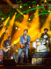John Mayer performs with The Roots at the Welcome America 4th of July Jam in Philadelphia.