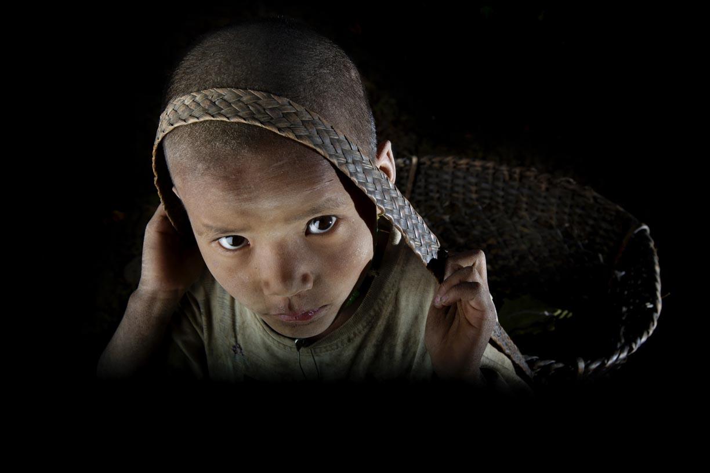 Boy, Chin State, Myanmar.