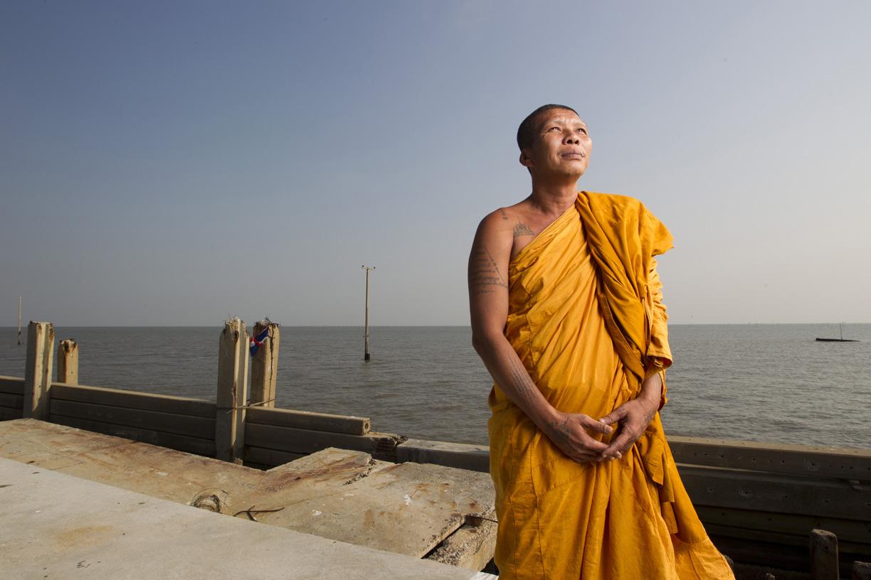 Somnuk Attipanyo, Wat Khun Samut Chin, Thailand.