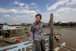 Fisherman, Kampong Kleang, Cambodia. i