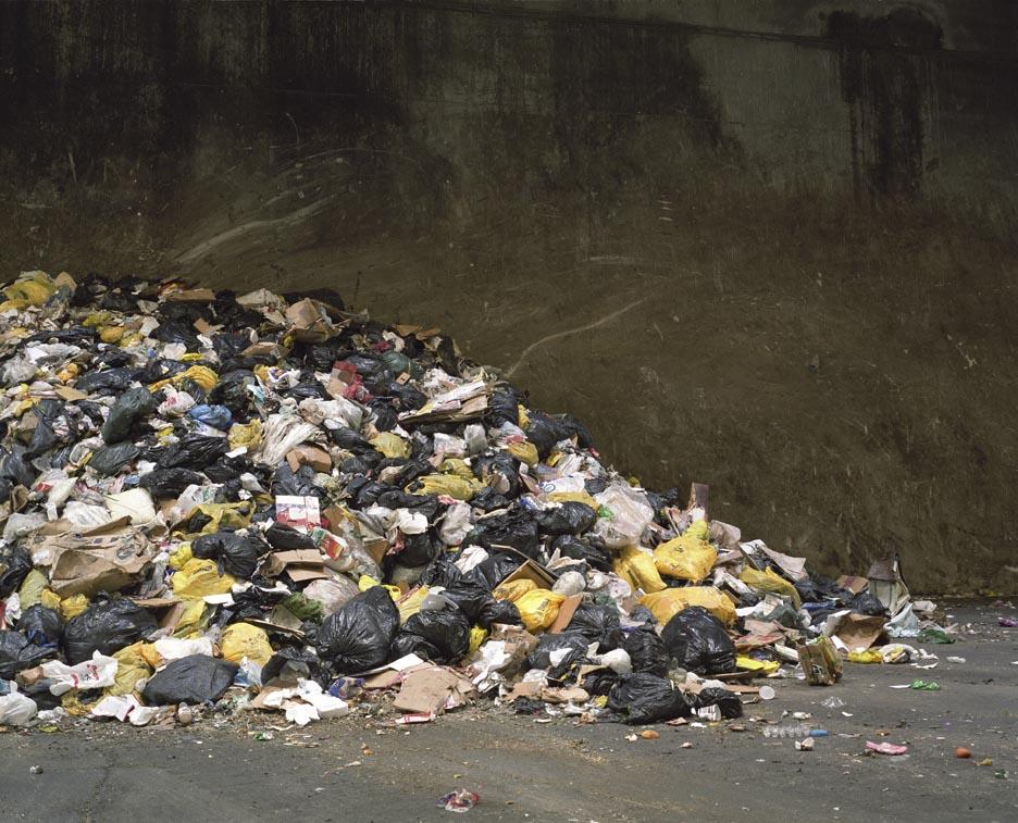 Garbage, Ingram Transfer Station, Toronto.