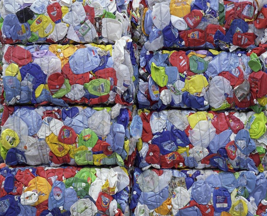 High Density Polyethylene (HDPE), Peel Region Material Recovery Facility, Brampton.