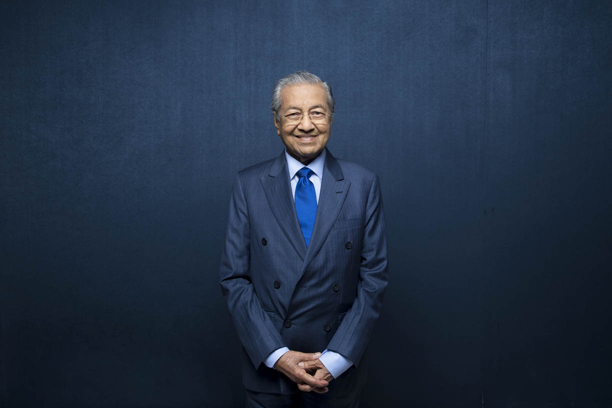 Dr. Mahathir bin Mohamad, Prime Minister of Malaysia.