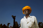 Camel trader, Pushkar, India
