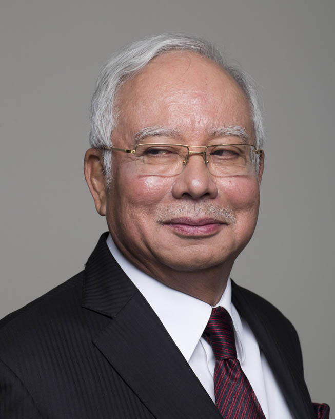 Najib Razak, Former Prime Minister of Malaysia.