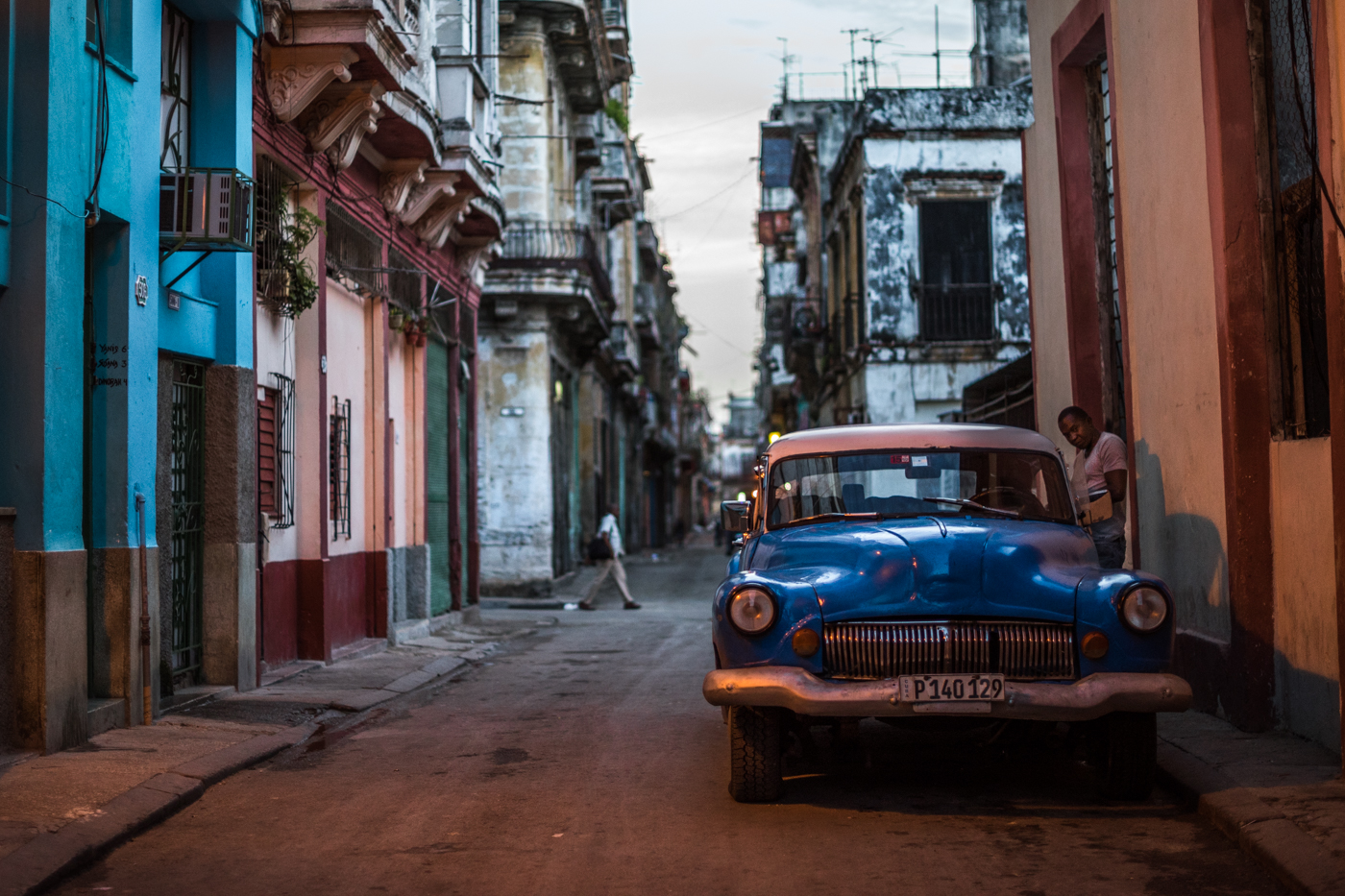 An old classic on the streets of Havana.