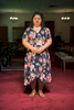 Juana Luz Tobar Ortega stands in the sanctuary of St. Barnabas Episcopal church in Greensboro, North Carolina.  She has lived in the church without leaving the property for 25 months.Juana Luz Tobar Ortega está parada en el santuario de la iglesia episcopal St. Barnabas en Greensboro, Carolina del Norte.  Ella ha vivido en la iglesia sin salir por veinticinco meses.