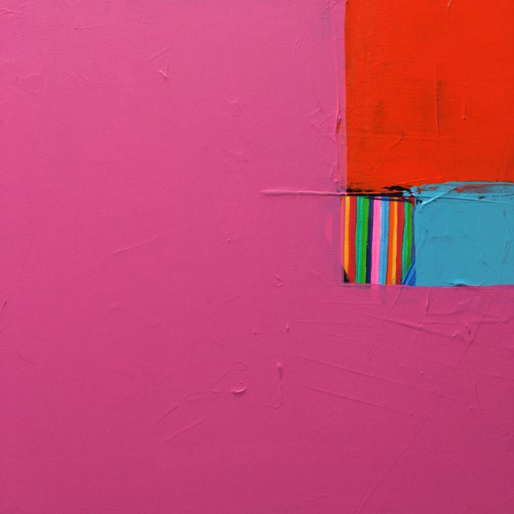 Knobby2015.  Acrylic on canvas20 x 20 in