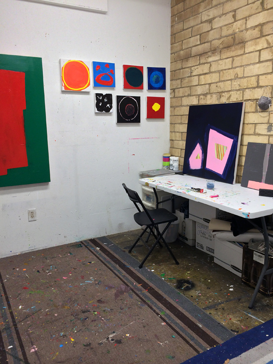Jennifer Turnage's Studio, Memphis, TN, July 2015