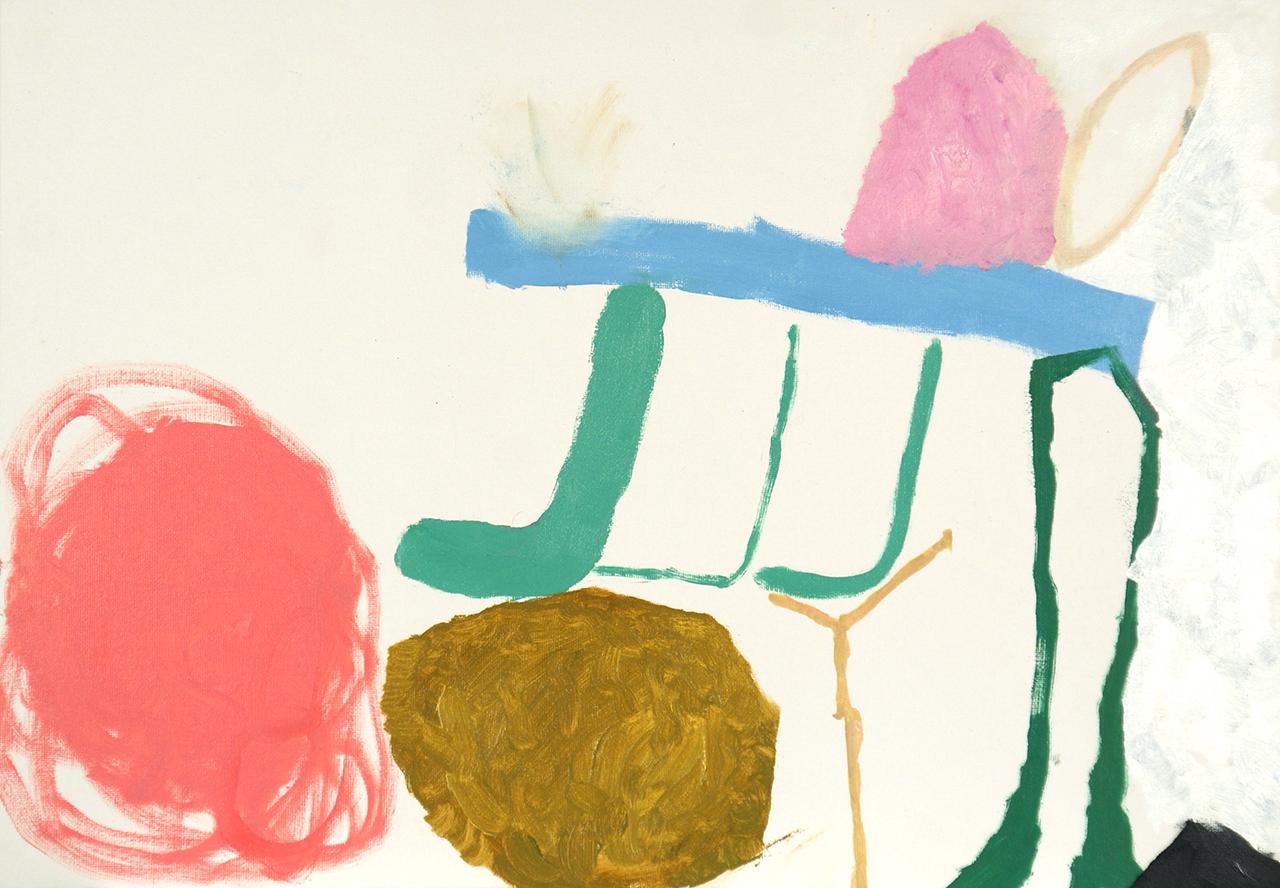 """Sasha PichushkinUntitled (2012) oil on canvas panel 14.77"""" x 19.68"""""""