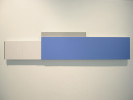 Enamel, Latex on MDF and Plexi with Aluminum14 X 64 X 3 in