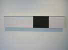 Enamel, Graphite on MDF with Aluminum12 X 56 X 2 in.