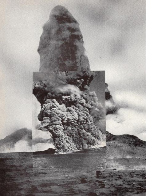 Brion Nuda RoschEruption on Past Eruption / 2010found book page on found book page11 x 8.5{quote}