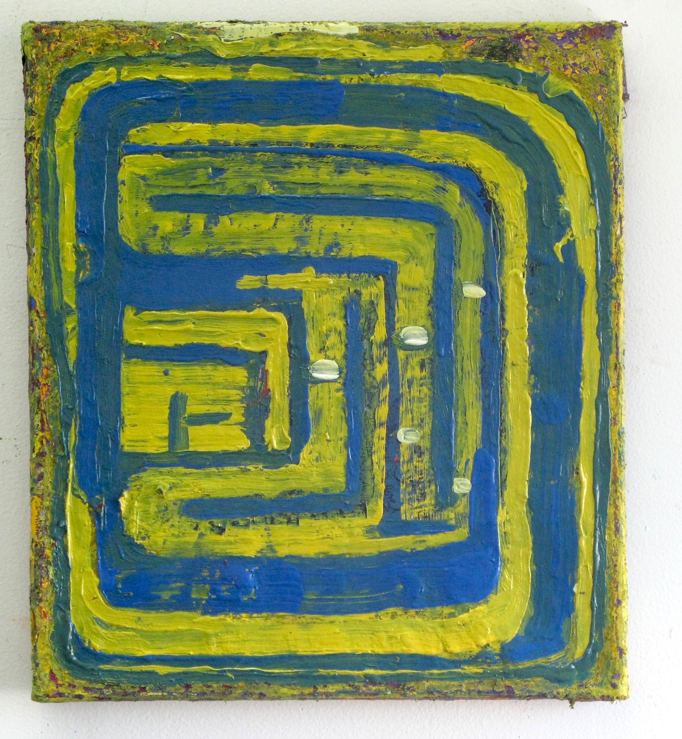 Oil on linen14 x 16 in.