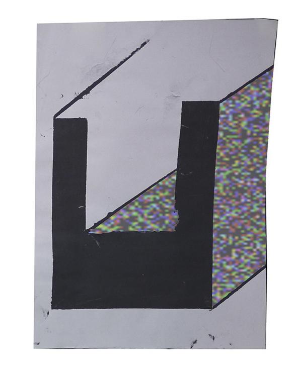 _| ̄|○Inkjet Print24 x 33 in.