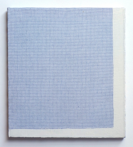 20 x 18 in.oil on cotton dishtowel