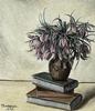 Nature Morte Aux Fleurs et LivresInkjet Print