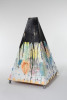 Tatiana BergJust Tent / 2011paint and canvas on wood, casters45 x 29 x 29{quote}