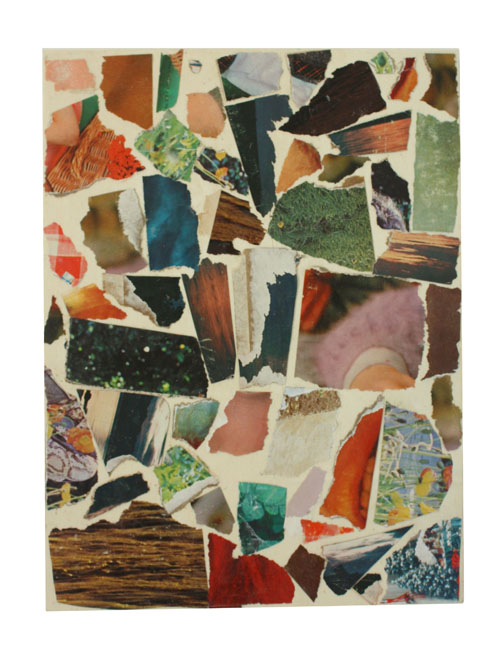 Bill CongerOrphan Often / 2011collage on wood panel / 11 x 8{quote}