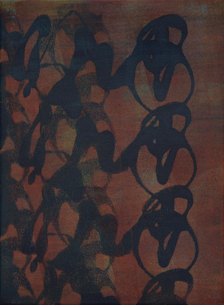 Acrylic on Canvas 30 x 40 cm.