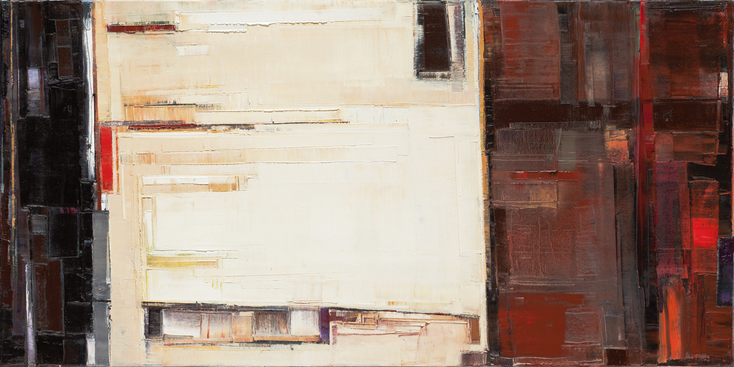 Oil on canvas24 x 48 in.