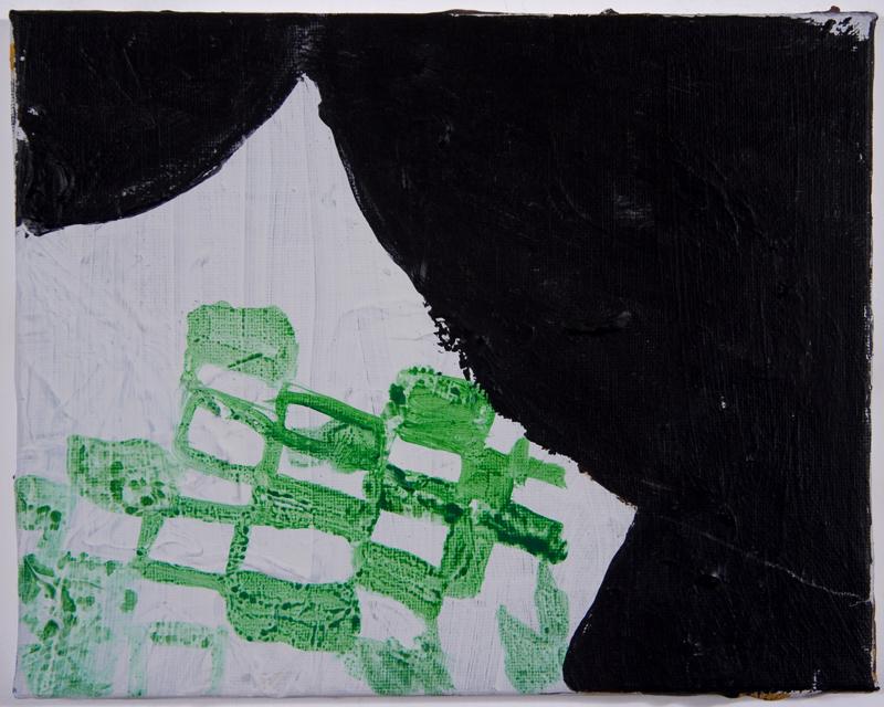 8 x 10 in.acrylic on canvas