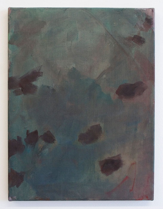 Sarah McNultyHour2012gouache on linen40 x 31 cm