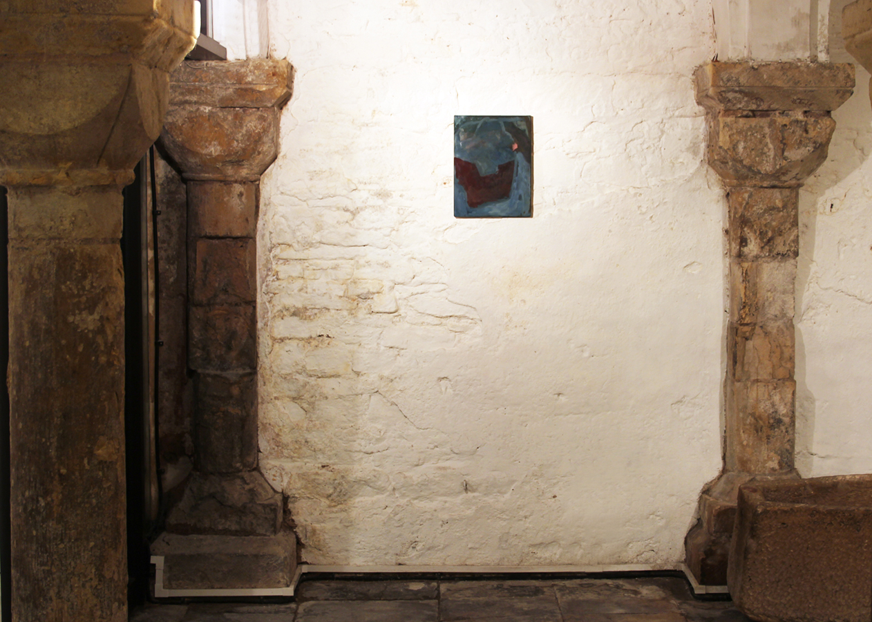 Sarah McNultyPainting, Installation, Worcester Cathedral Crypt2012