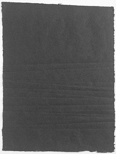 creased paper15.5 x 20 in.