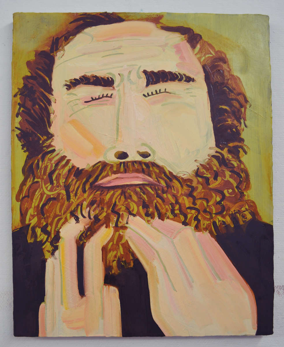 Lauren Whearty Ben 16x20. Oil on Canvas